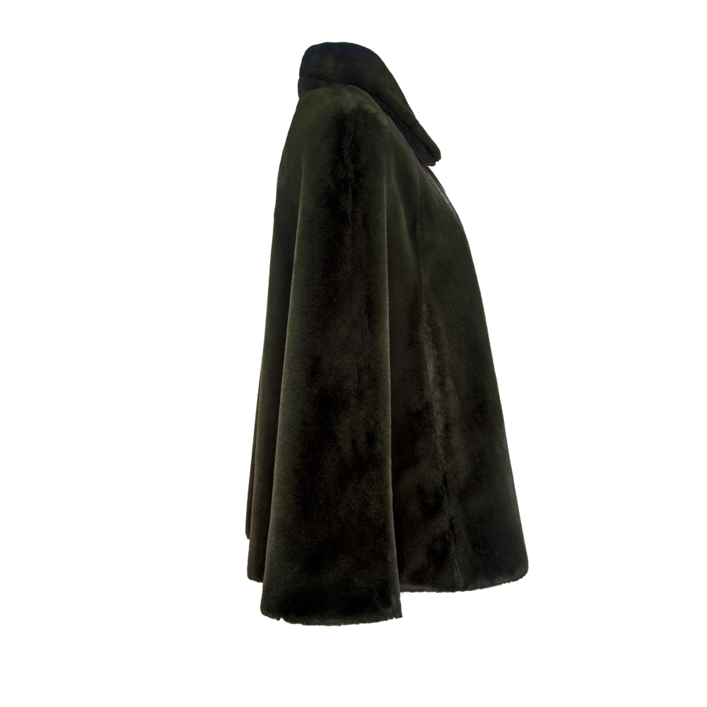 Notch Collar Cape