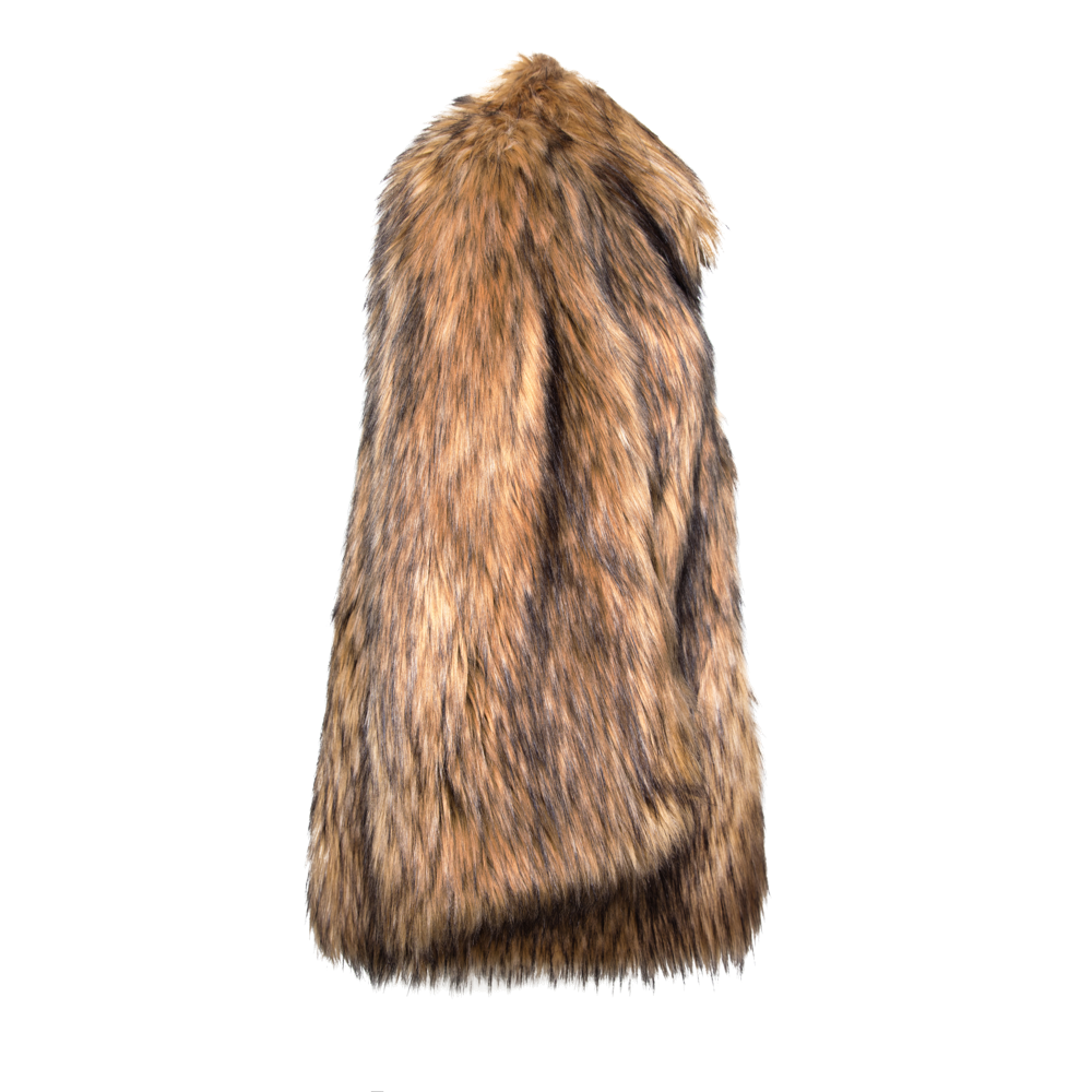 Natural Yeti Cape Coat