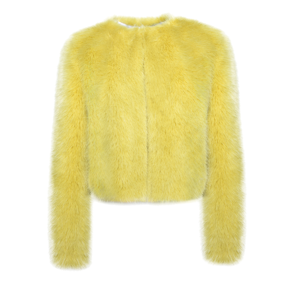 Cropped Fox Jacket - House of Fluff