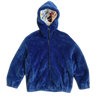 "BIOFUR™ Zip Front ""Ski"" Jacket - Marine Blue - House of Fluff"