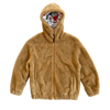 "BIOFUR™ Zip Front ""Ski"" Jacket - Camel - House of Fluff"
