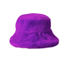 Teddy Bucket Hat, Violet - House of Fluff