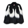 Black & White Colobus Cape Coat - House of Fluff
