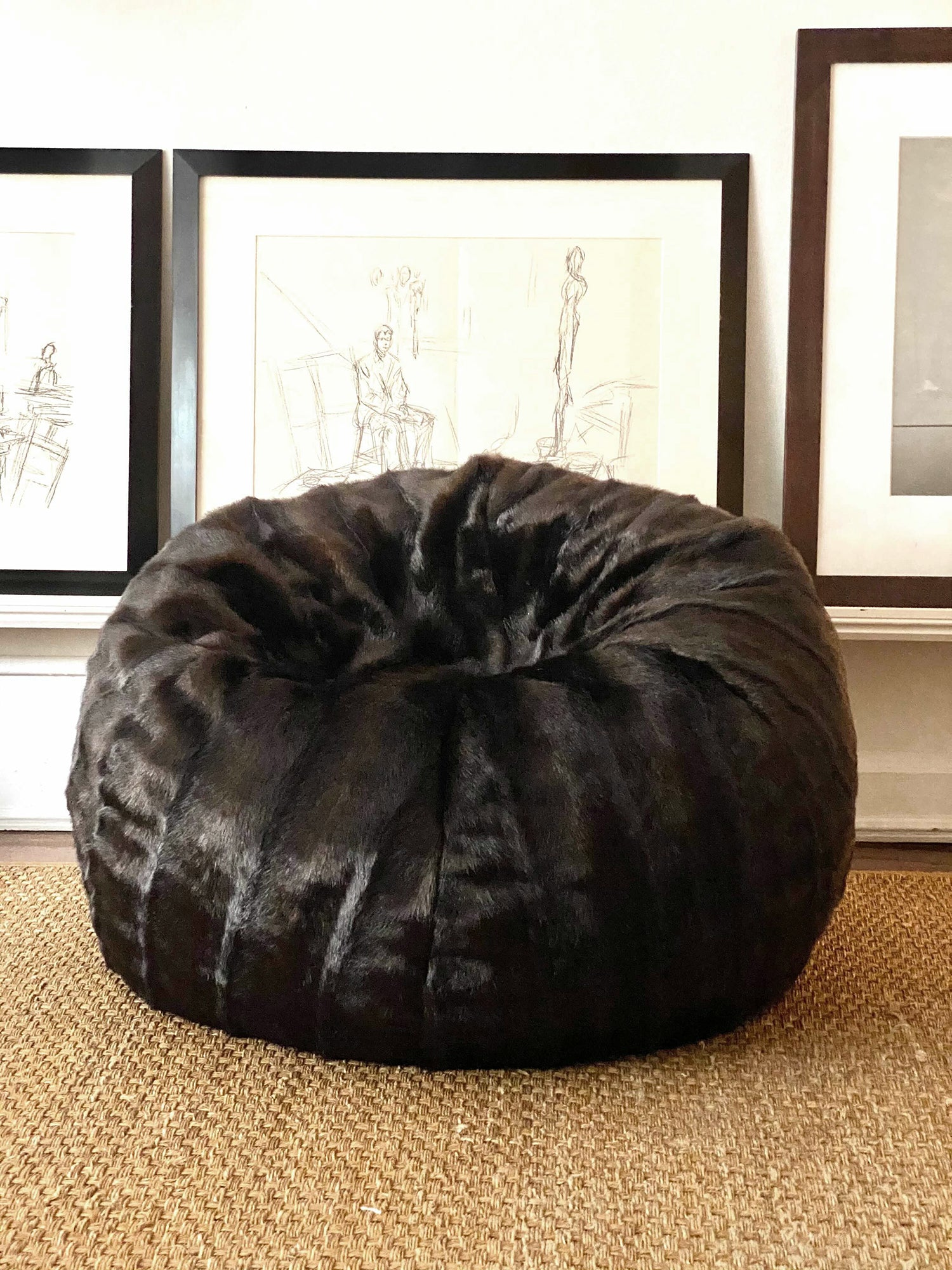 Mink Beanbag - Stuffed - House of Fluff