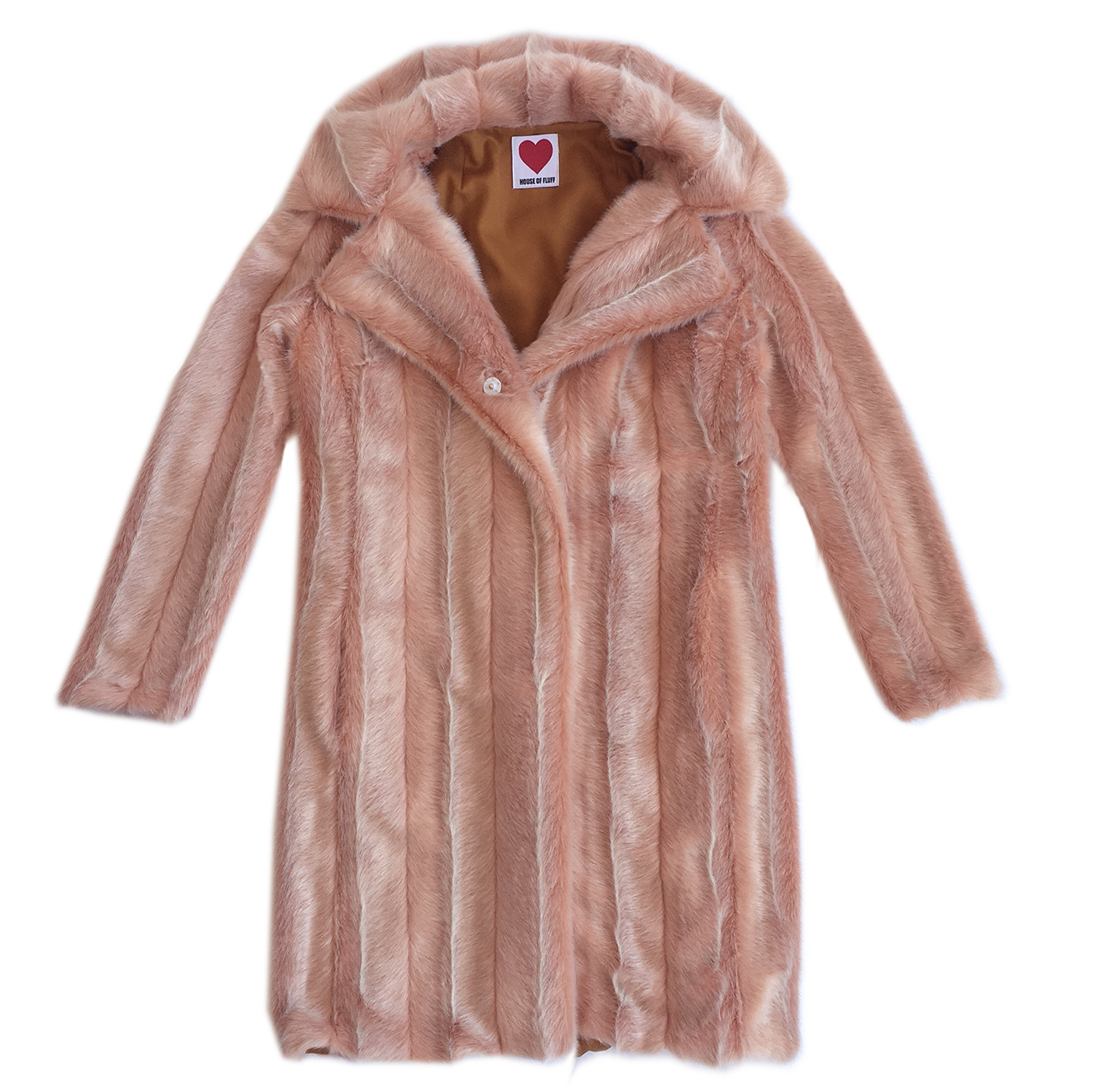 Vintage Mink Coat, Pale Pink - House of Fluff
