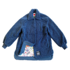 100% Recycled Shearling Shacket - French Blue - House of Fluff