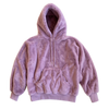 100% Recycled Teddy Hoodie - Lavender - House of Fluff