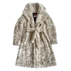 Classic Animal-Free Shearling Coat - House of Fluff