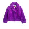 Classic Teddy Jacket, Violet - House of Fluff