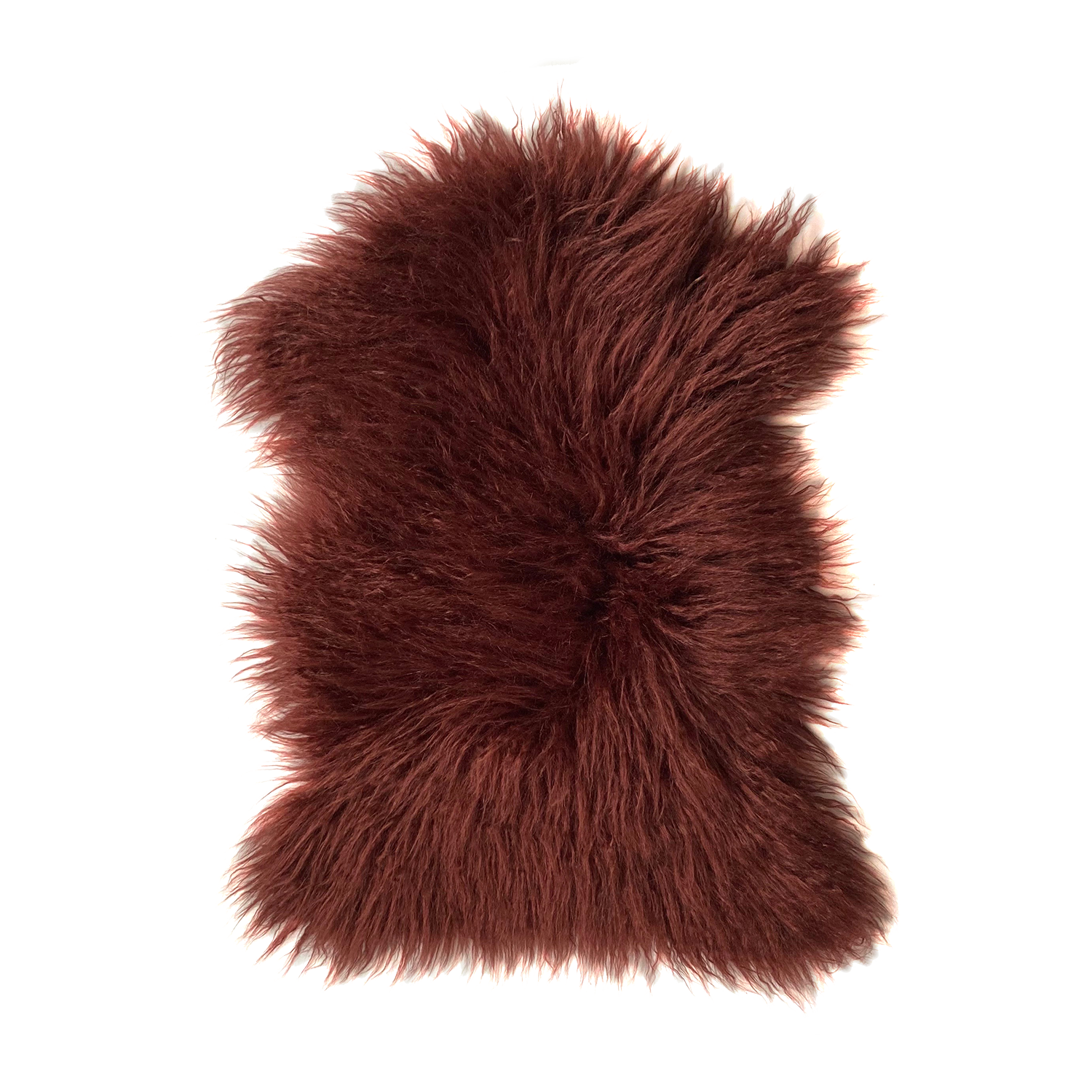 Yeti Pelt, Burgundy - House of Fluff