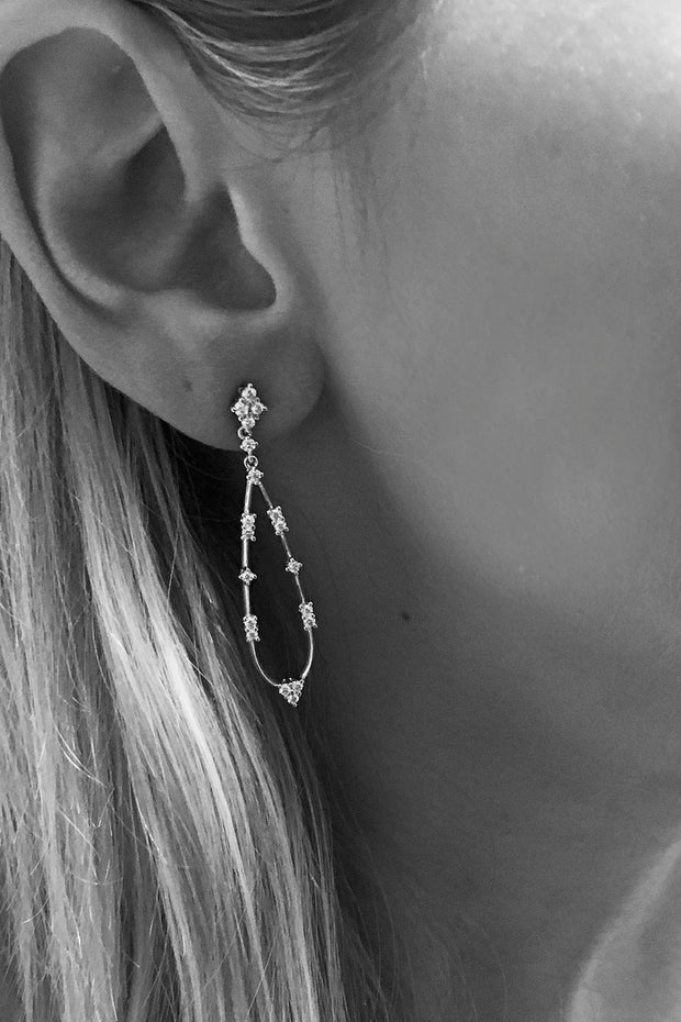 Constellation Teardrop Earrings