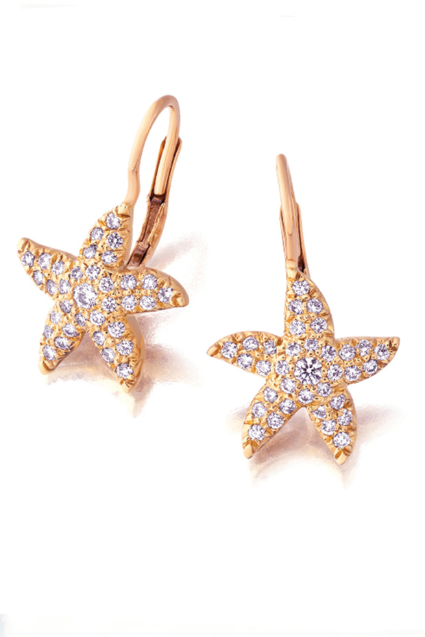 Tiny Starfish Earrings