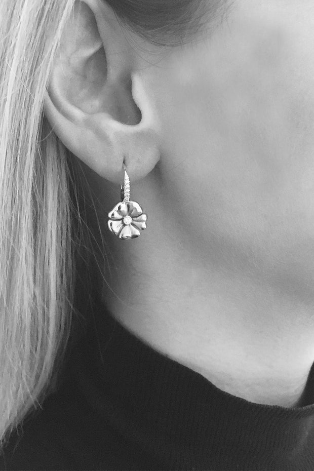 Blossom Lever Back Earrings