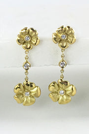 Blossom Double Drop Earrings