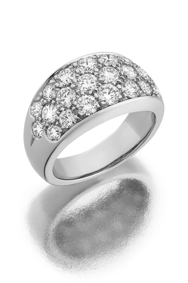Large Pavé Ring