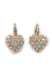 Pavé SweetHeart Earrings