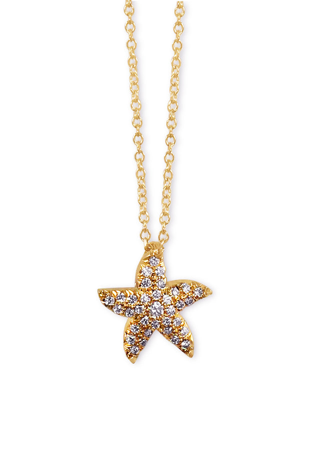 Tiny Starfish Pendant
