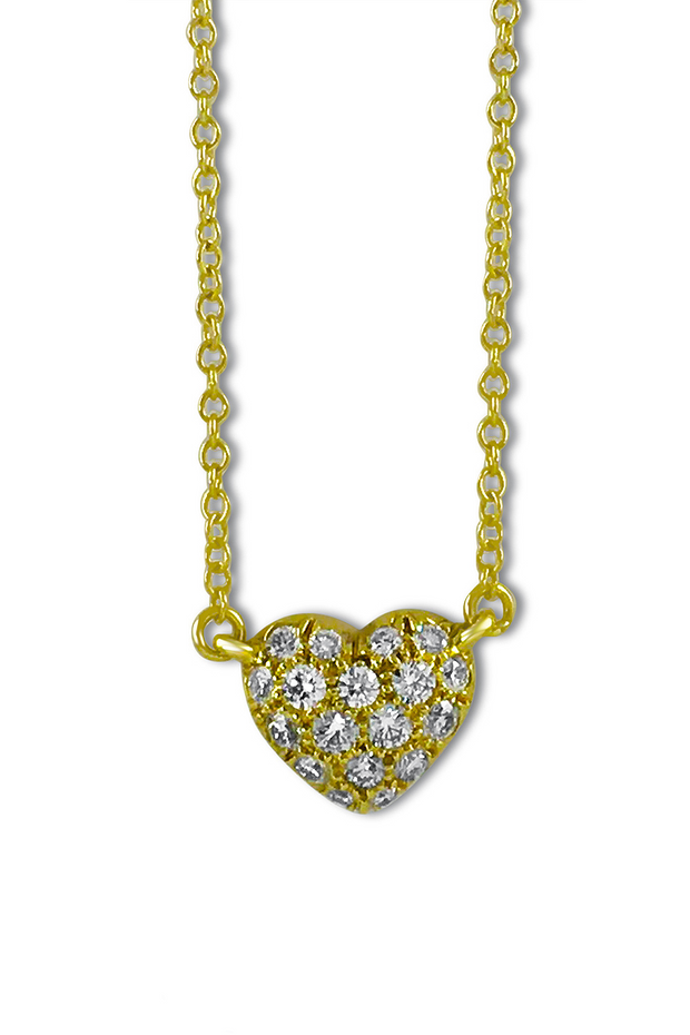 Pavé SweetHeart Necklace