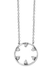 Star Wheel Necklace