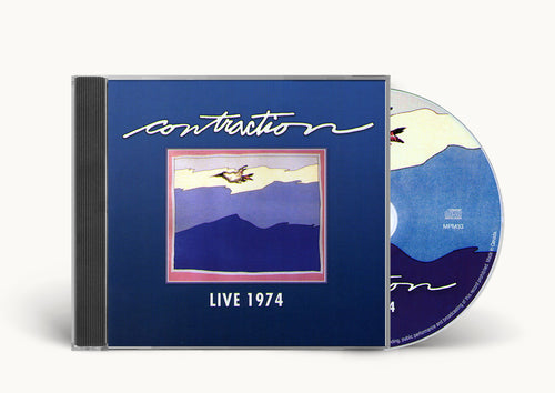 "Contraction - ""Live 1974"" cd"