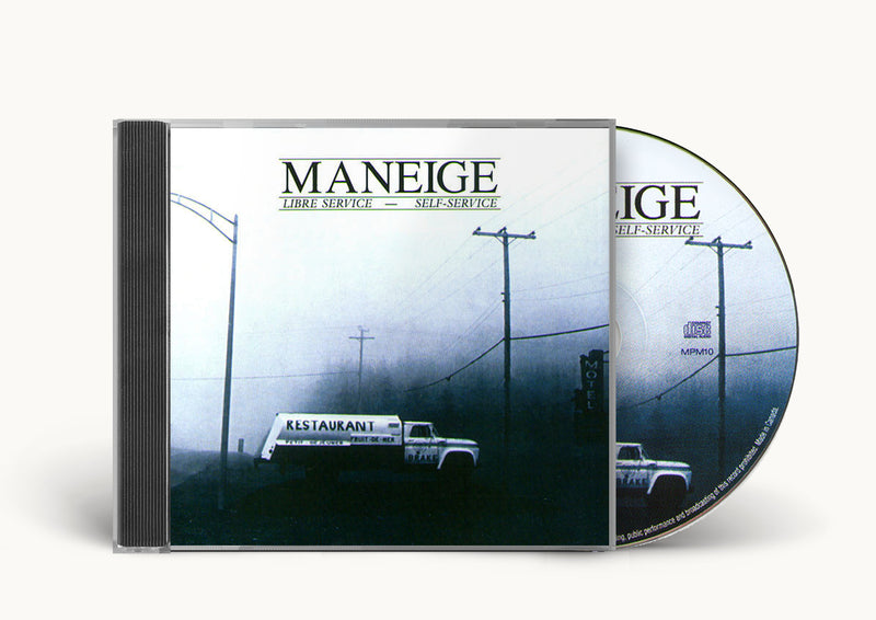 "Maneige - ""Libre service - Self-service"" cd"