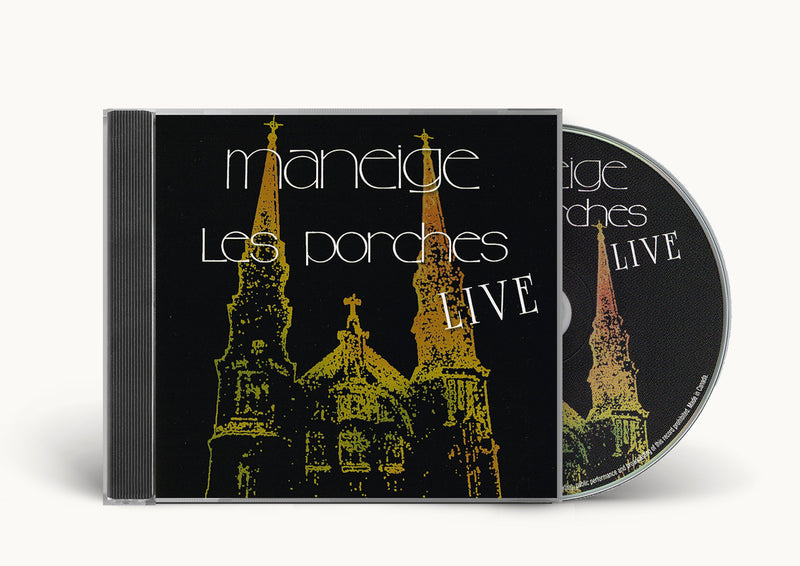 Maneige - Les Porches 'LIVE' cd