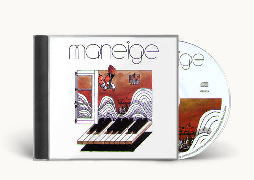 Maneige - Maneige (bonus tracks)  cd