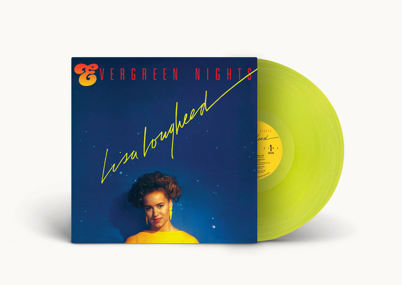 Lisa Lougheed- Evergreen Nights ( 2nd Pressing on Neon Yellow)