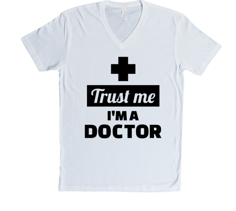 TRUST ME IM A DOCTOR COLLECTION - VNECKS