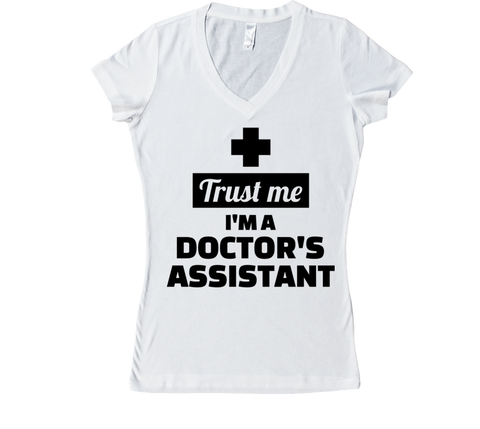 TRUST ME IM A DR's ASSISTANT COLLECTION - VNECKS