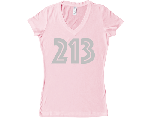 AREA CODE REP COLLECTION - LADIES VNECK