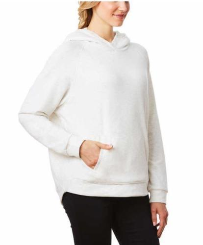 ... 32 Degrees Heat Women s Cozy Sherpa Lined Pullover Hoodie Sweatshirt  WHITE ... b4f6cb727a