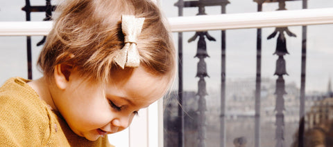 Kid hair clips - Patt'touch English