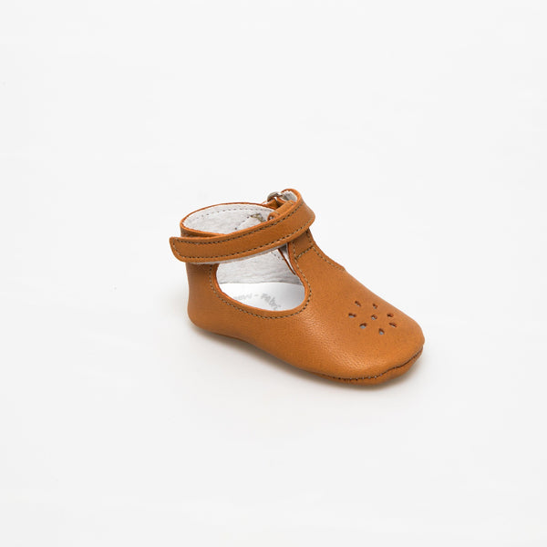 Salome Baby shoe | Eden Brown - Patt'touch English