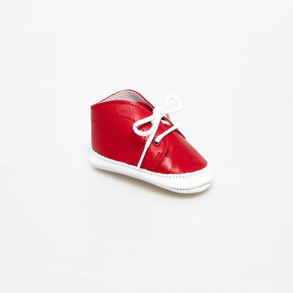 Derby Baby shoe | Balthazar Red
