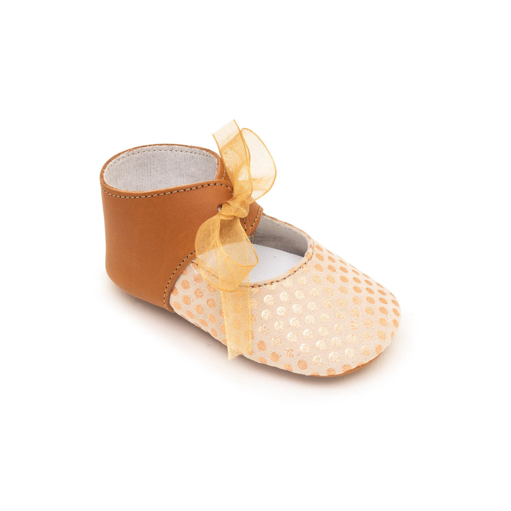 Charles IX Baby shoe & First step shoe | Alienore Cognac