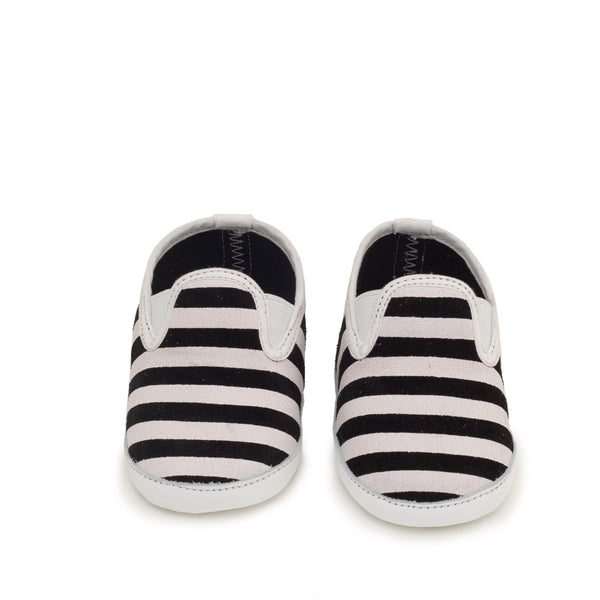 Alix Marine & White stripes | Espadrille Baby shoe