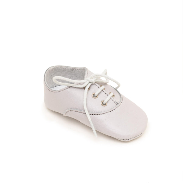 Richelieu Baby shoe & First step shoe | Arthur Light grey