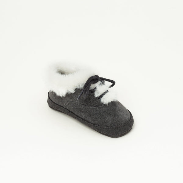 Boots Baby shoe | Adrien Grey - Patt'touch English