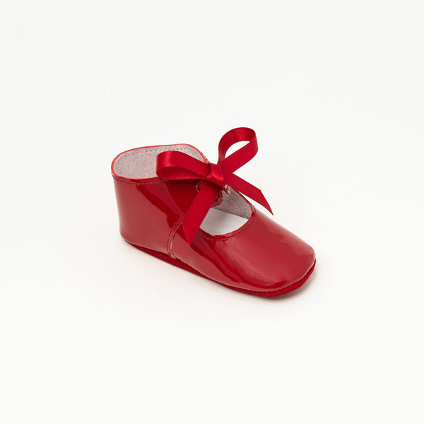 Charles IX Baby shoe | Alienore Red - Patt'touch English