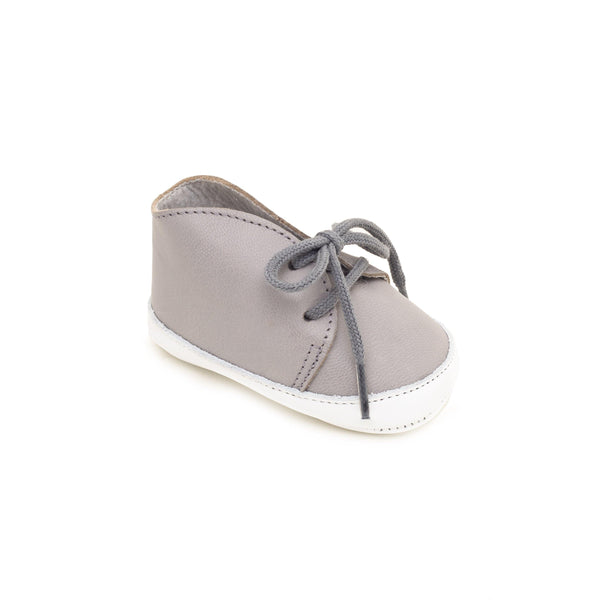 Baby shoe & First step shoe | Balthazar Grey & White