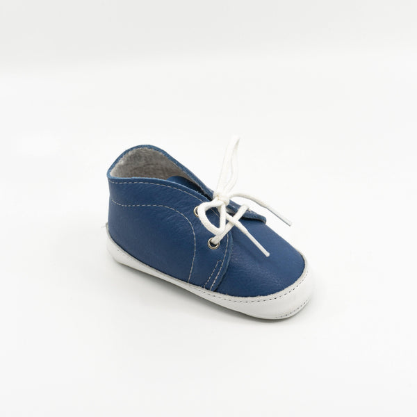 Derby Baby shoe | Balthazar Blue Magia - Patt'touch English