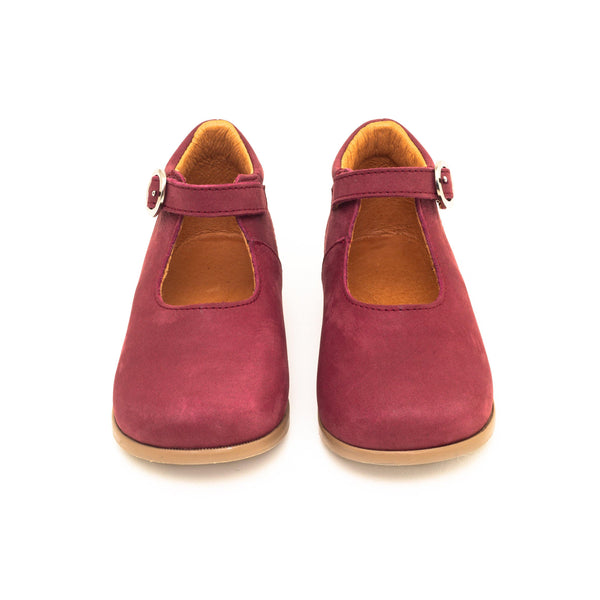 Daphné Red raspberry | Girl shoe