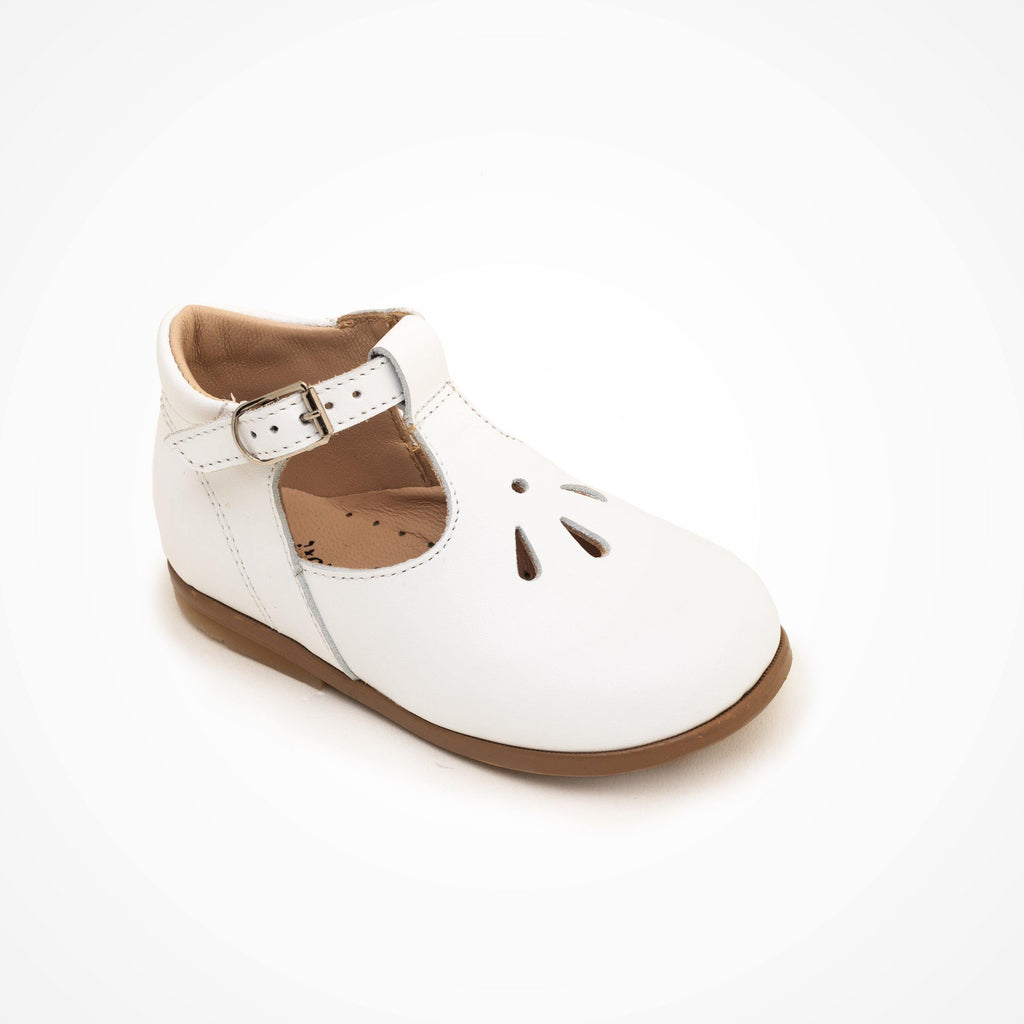 Salome Kid shoe | Deny White - Patt'touch English