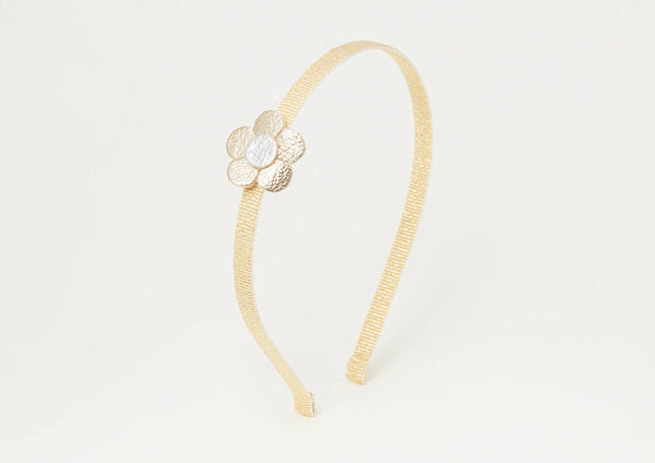 Headband | Daisy Gold