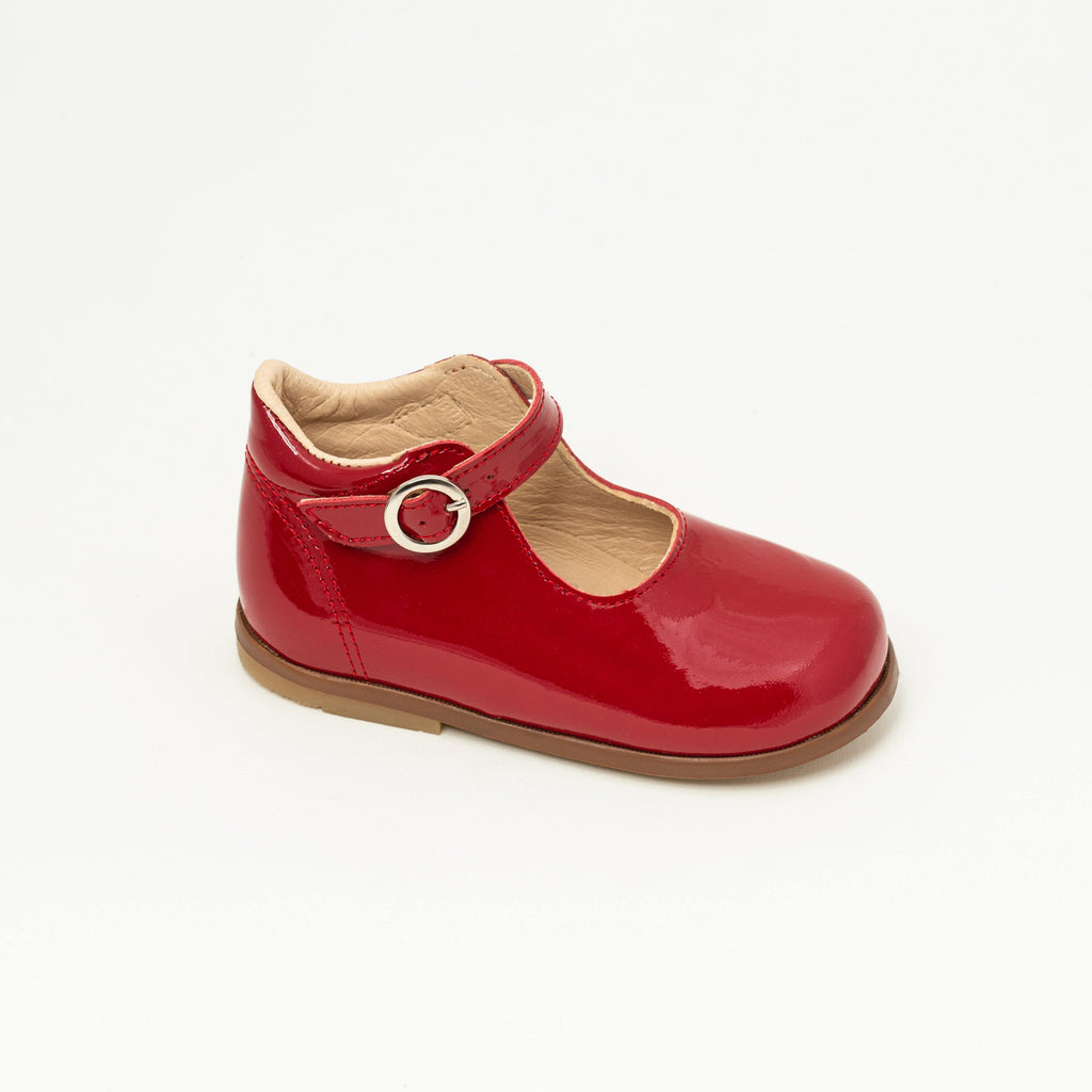 Charles IX Kid shoe | Daphne Red