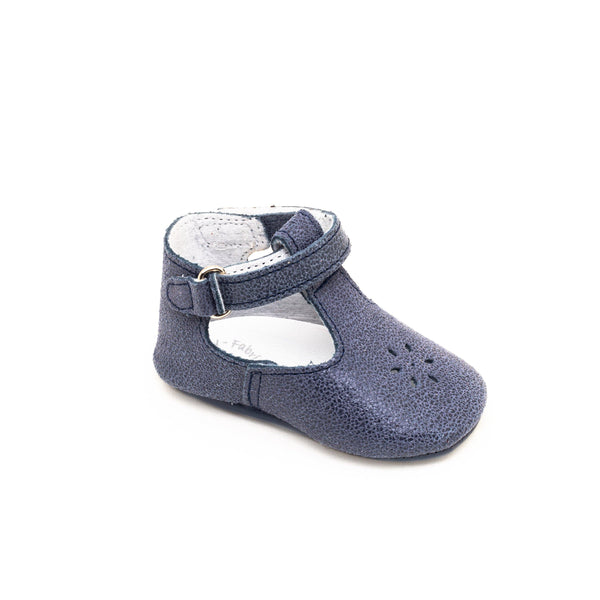 Salomé Baby shoes & First step shoe | Eden Lewis Blue