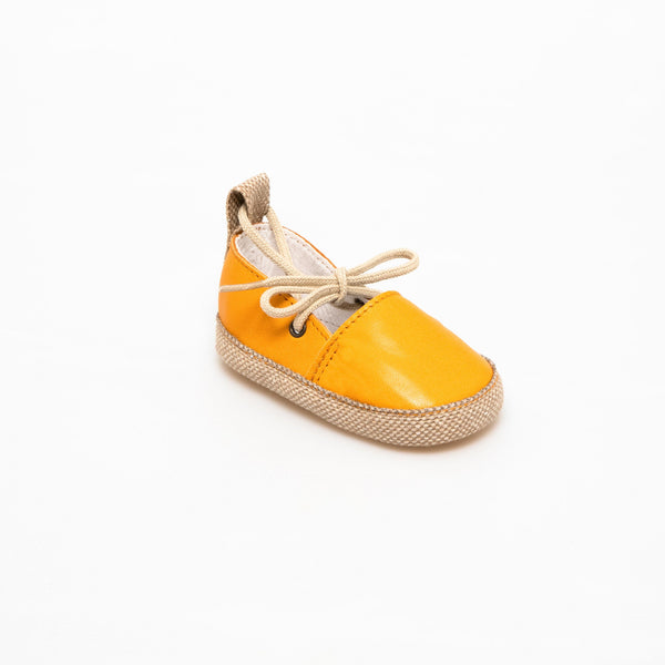 Espadrille Baby shoe | Emma orange