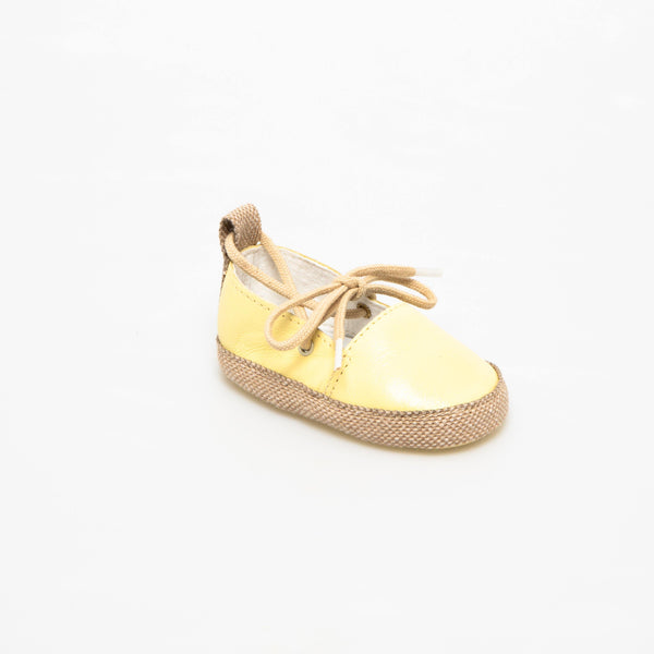 Espadrille Baby shoe | Emma Yellow