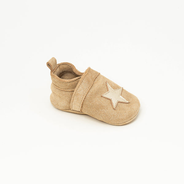 Slipper Baby shoe | Gwenaël Devenlight gold